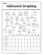 Halloween Graphing Worksheet thumbnail