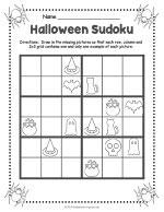 Halloween Sudoku thumbnail