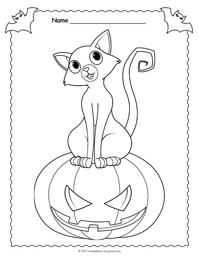 Halloween Coloring Pages And Word Searches : Halloween word search